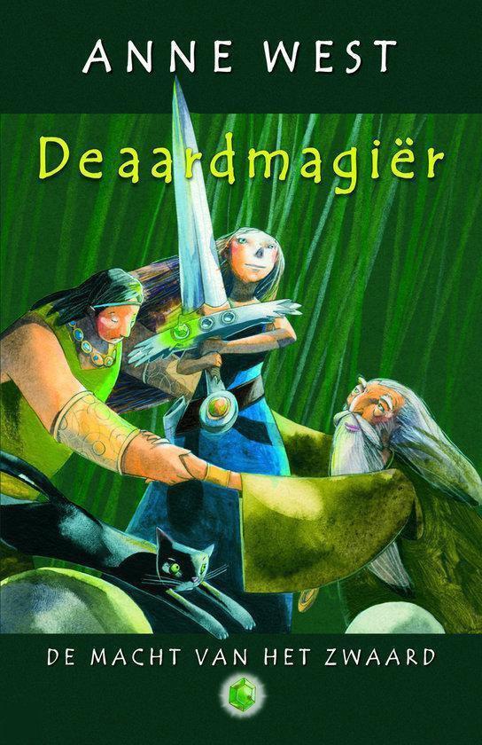 Cover van het boek 'De Macht van het Zwaard / 1 De aardmagier' van A. West
