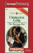 Omslag Marriage War
