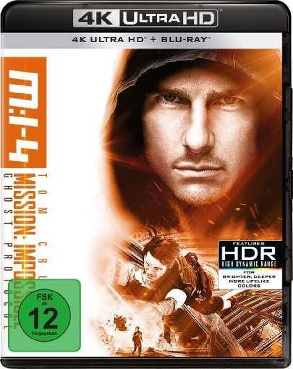 Mission: Impossible 4 - Phantom Protokoll (Ultra HD Blu-ray & Blu-ray)-
