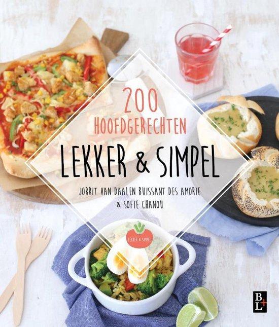 Boekomslag voor Lekker & simpel