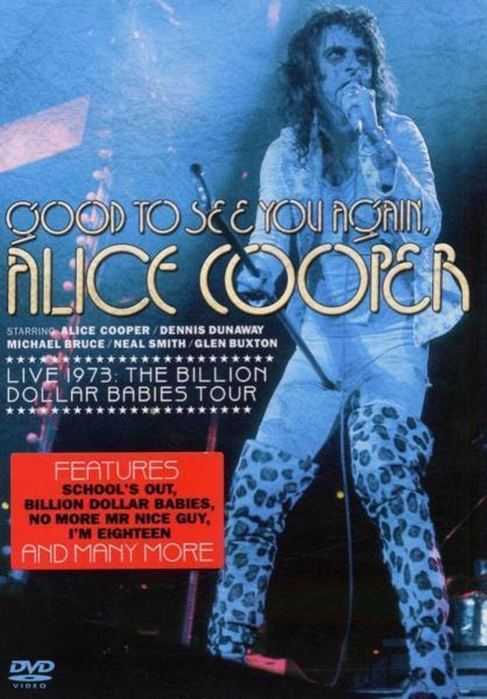 Cover van de film 'Alice Cooper - Good To See You Again'