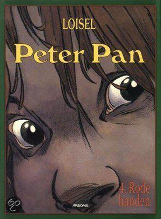 Cover van het boek 'Peter Pan / Hc04. Rode Handen'