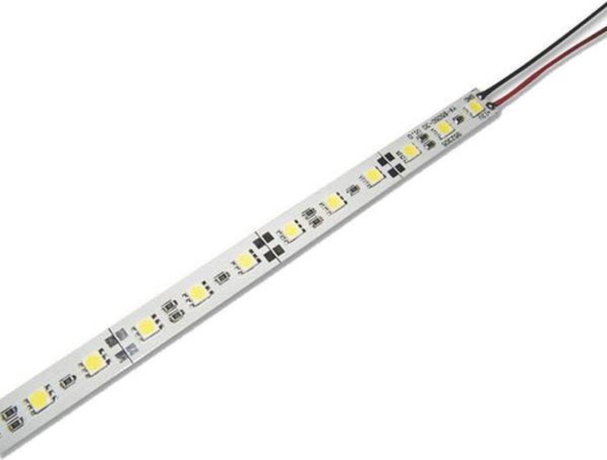 1 meter - extra koud wit - rigide led Strip - 12 volt - 5050 SMD