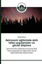 Astronomi eğitiminde akıllı tahta uygulamaları ve goersel duşunce