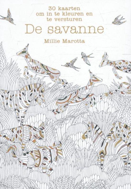 De savanne - Millie Marotta pdf epub