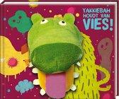 Handpopboek - Handpopboek yakkiebah houdt van vies