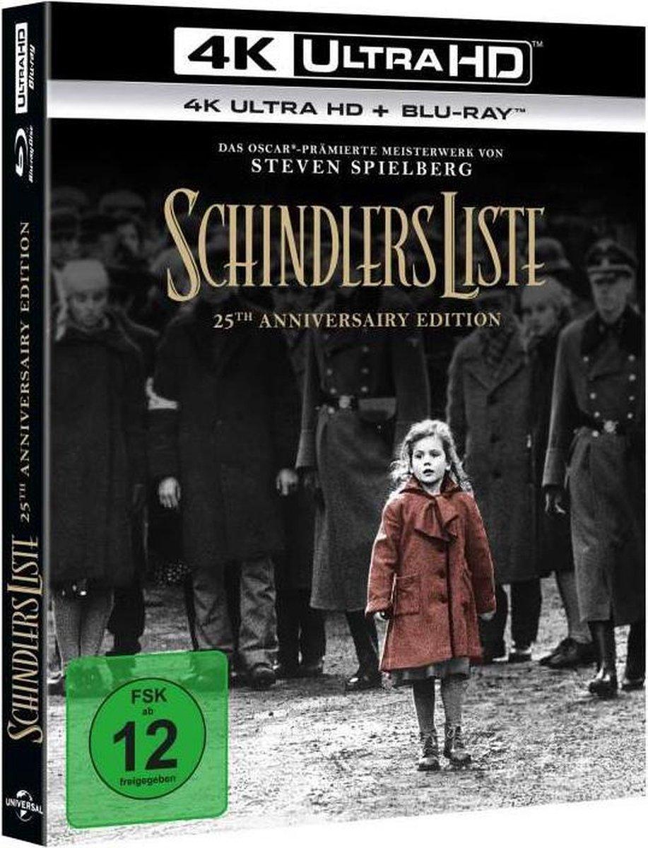 Schindler's List (1993) (25th Anniversary Edition) (Ultra HD Blu-ray & Blu-ray)-