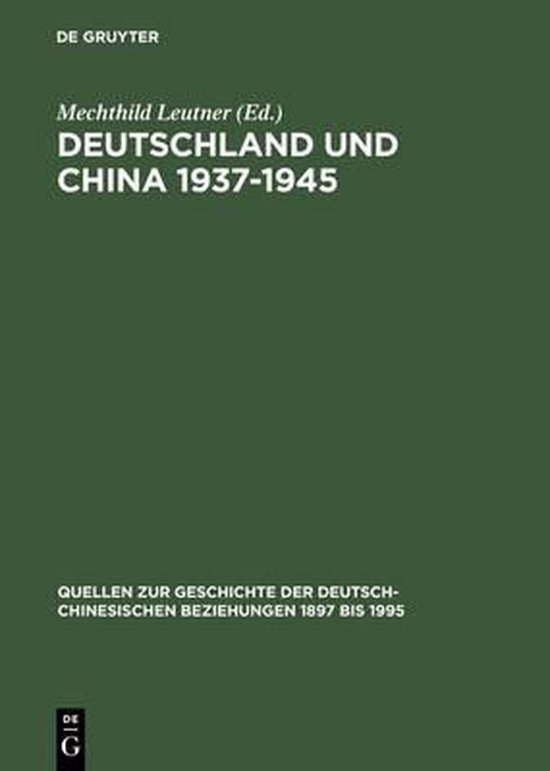 Deutschland und China 1937-1945