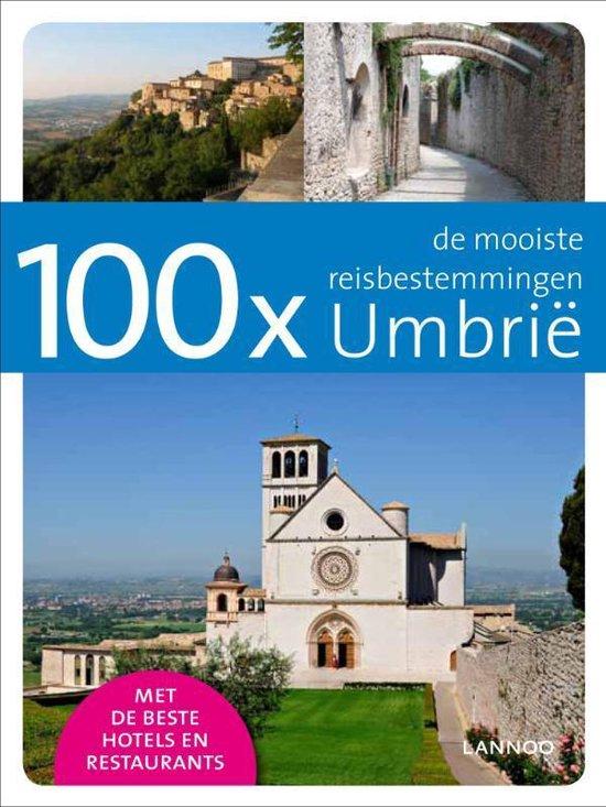 Cover van het boek '100x de mooiste reisbestemmingen / Umbrie' van R. de Meulemeester en Rudy de Meulemeester