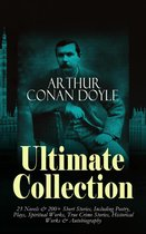 Omslag ARTHUR CONAN DOYLE Ultimate Collection: 23 Novels & 200+ Short Stories