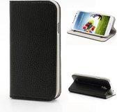 Sucker Wallet Stand Case Samsung Galaxy S4 i9500 Black