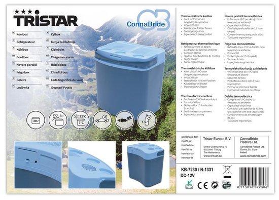 Tristar KB-7230 - Koelbox - Thermo-Elektrisch - 30 l