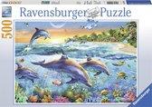 Ravensburger puzzel Dolfijnenbaai - Legpuzzel - 500 stukjes