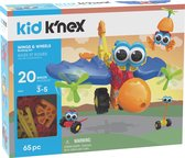 Kid K'NEX - Wings & Wheels - Bouwset - 65 onderdelen