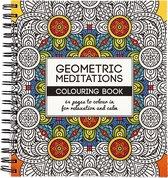 Kleurboek, Geometric, 19,5x23 cm, 64, 1 Stuk - Multicolor