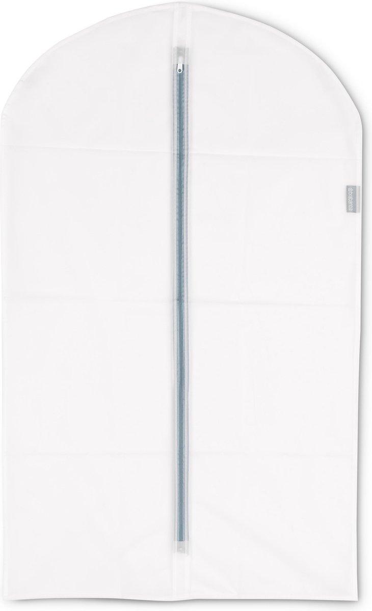 Brabantia Kledinghoes M - 60x100 cm - 2 stuks - Transparant met White