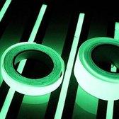 Lichtgevende plakband - Glow in the dark tape - Reflecterende plakband - 3M - Safety - Veiligheid - Markering - Halloween