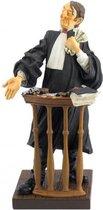 Advocaat – jurist - beeldje – beroepen – professions – Guillermo Forchino – 11x11x22 cm