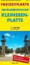 Freizeitkarte Mecklenburgische Kleinseeplatte 1 : 100 000