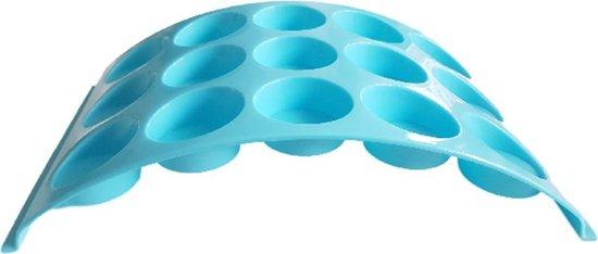 12-Muffin standaard YOURI - Blauw - Kunststof