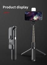 Bovadi® Selfie Stick met led verlichting TikTok Stick Vlog Stick Youtube Stick Instagram Stick 2021 3 in 1