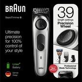 Braun BT5260 Baardtrimmer En Haartrimmer Voor Mannen - 39 Lengte-instellingen - Zwart/Metaalzilver