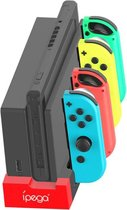 Nintendo Switch oplaadstation - joy-con charger docking station - 4 joy-con slots