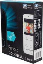 Deurbel - Smart Connect Video-Deurbel - met Camera 1080p Full HD - Wi-Fi 2.4GHz - Smart Connect Video Doorbell