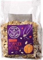 Geroosterde pompoenpitten Your Organic Nature - Zak 200 gram - Biologisch