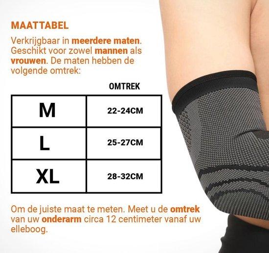 Boersport ®   Orthopedische Elleboogbrace bij slijmbeursontsteking   Damen & Heren   XL