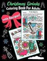 Christmas Drinks Coloring Book For Adults With Recipes
