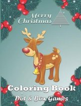 Christmas Coloring Book Dot & Box Games