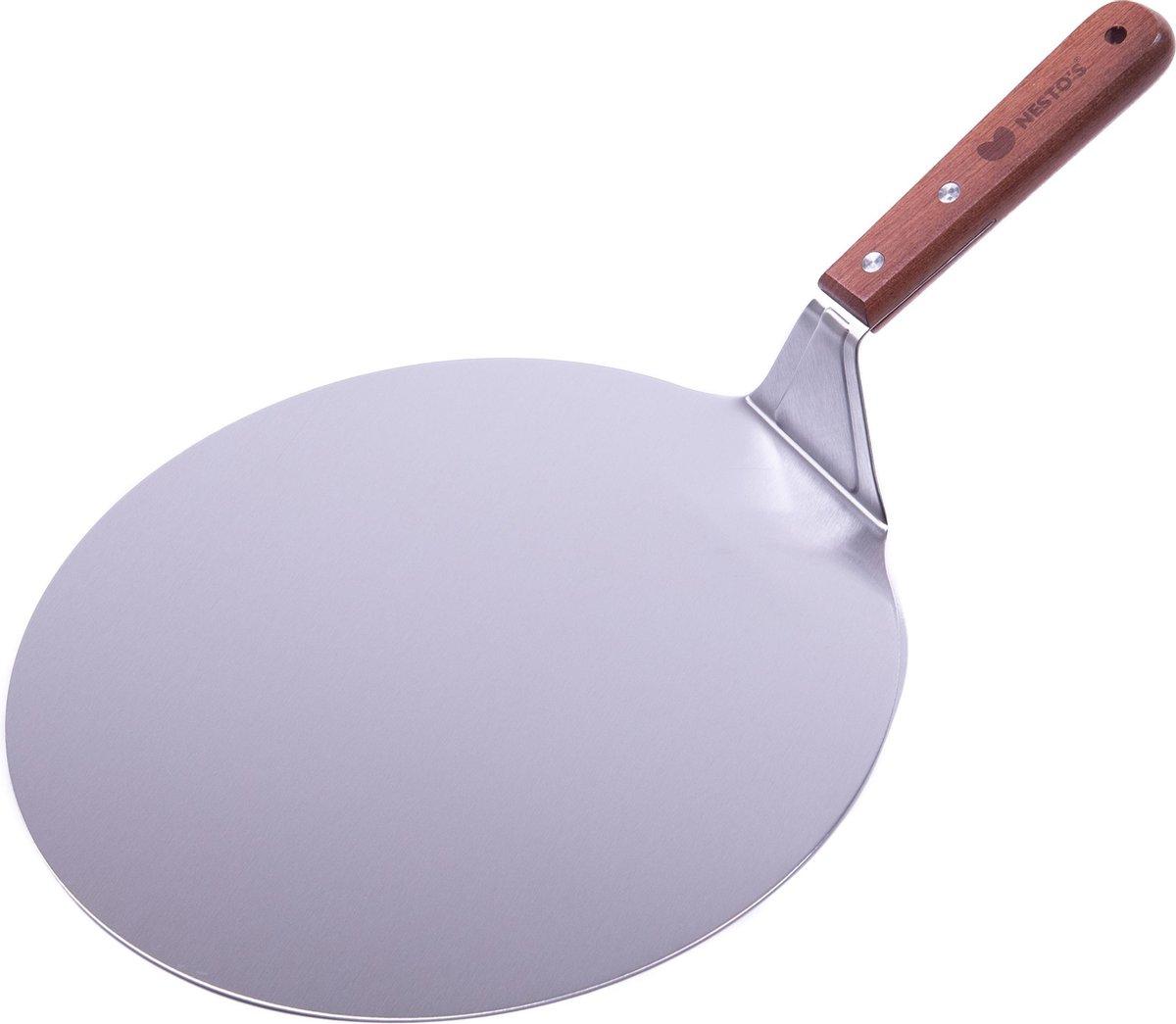 Nesto's - Pizzaschep - pizzaspatel - pizza schep - spatel - Voor BBQ en Oven - 26 cm