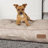 Scruffs Kensington - Stijvol eco-leren hondenkussen