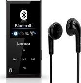 Lenco Xemio-760 - MP3-speler met Bluetooth en 8GB geheugen - Zwart