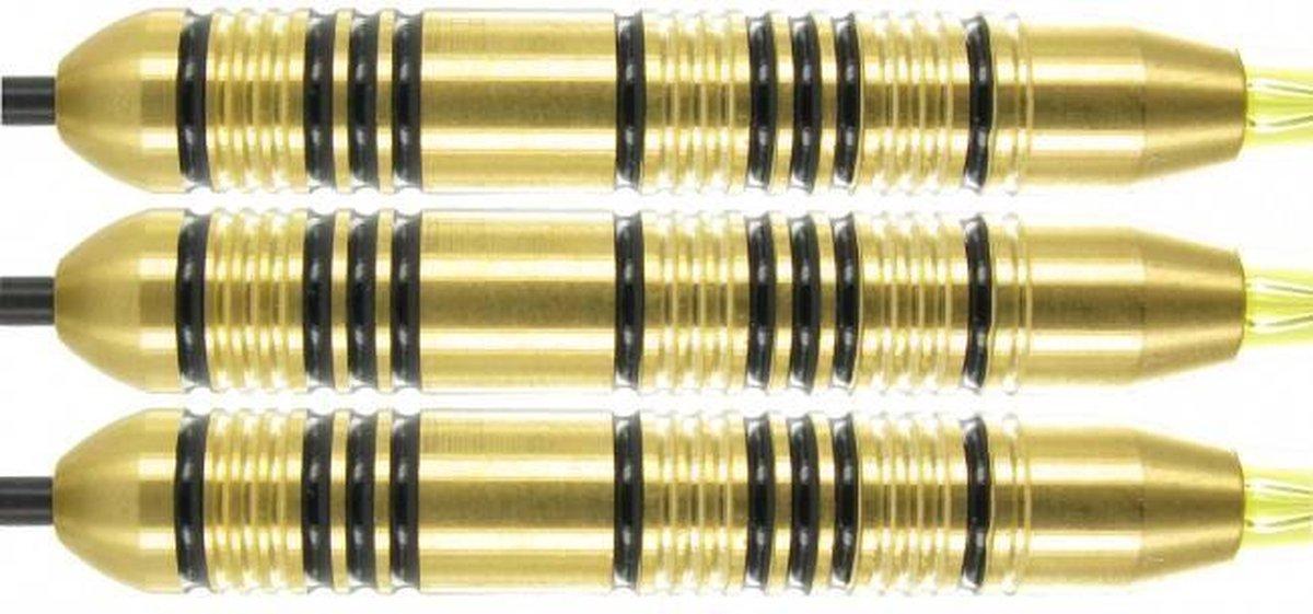 McKicks Speedy Yellow Brass - Dartpijl 22 gram