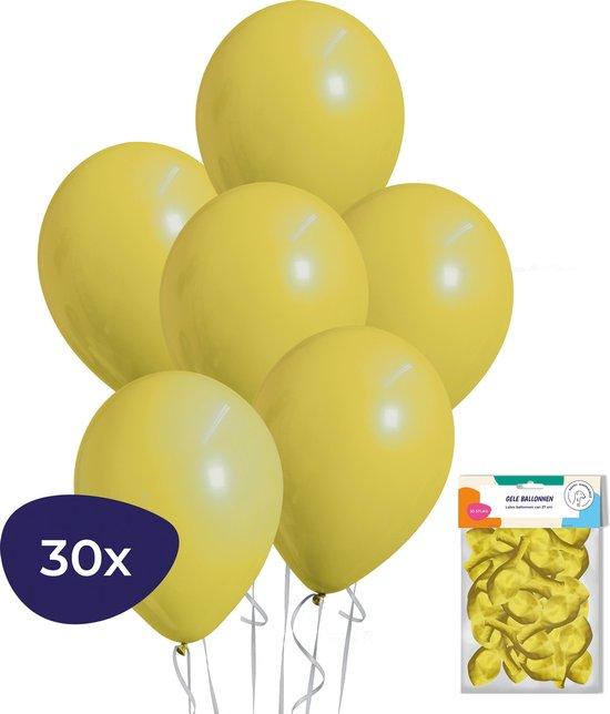 Ballonnenset 30 Stuks - Latex Gekleurde Ballonnen Geel