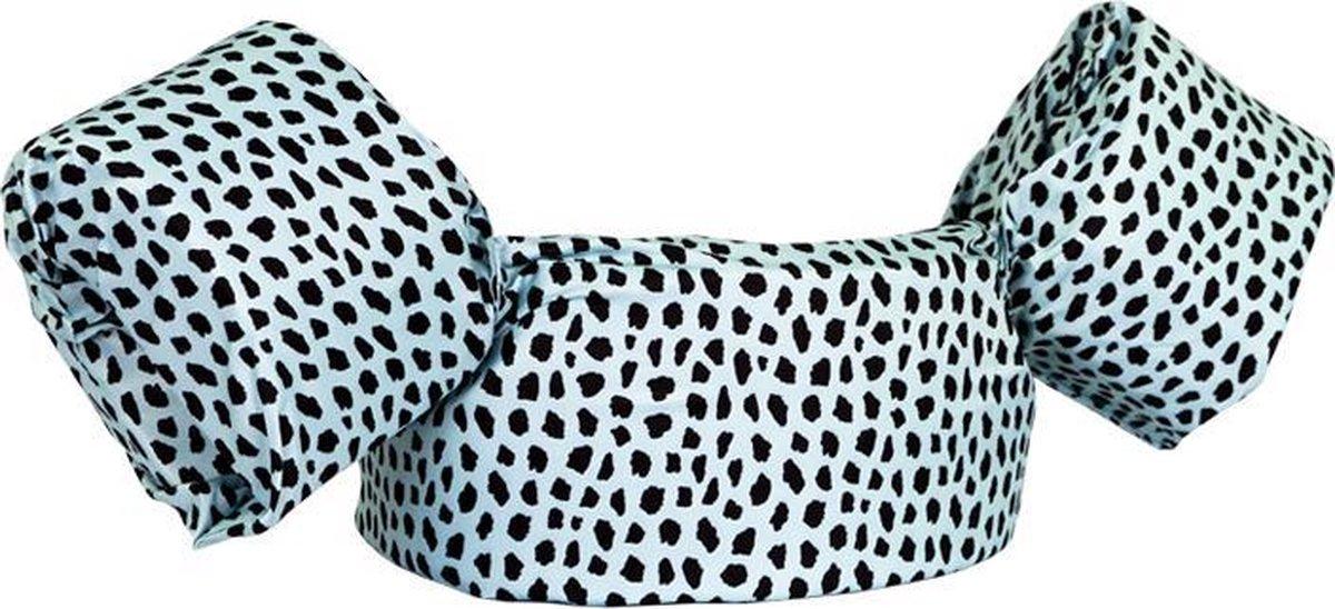 HappySwimmer - Zwembandjes/zwemvest voor peuters en kleuters met Cheetah print