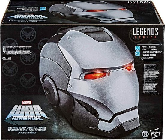 Marvel Iron Man War Machine Orgineel Hasbro Helm Elektronisch effecten