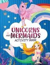 Mermaid Unicorn Activity Workbook