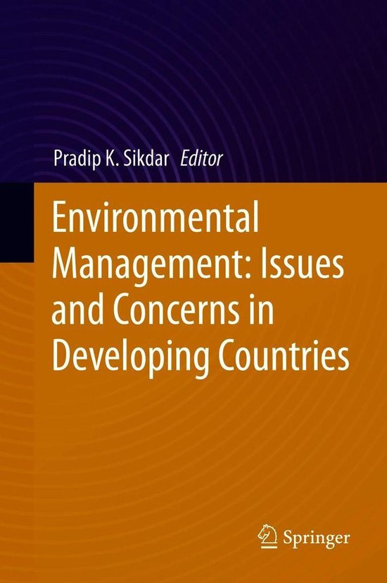 Boek cover Environmental Management: Issues and Concerns in Developing Countries van  (Onbekend)