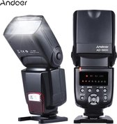 Andoer AD-560 II flitser speedlite voor Canon Nikon Olympus Pentax Fuji Sony