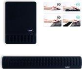 LURK® 2-in-1 Ergonomische muismat polssteun set voor Toetsenbord en Muis – Computer & Laptop – Antislip – Memory Foam – Zwart