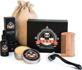 Verzorgende baardgroei set – Baardolie – Baard verzorging set – Baardgroei kit - Baardkam