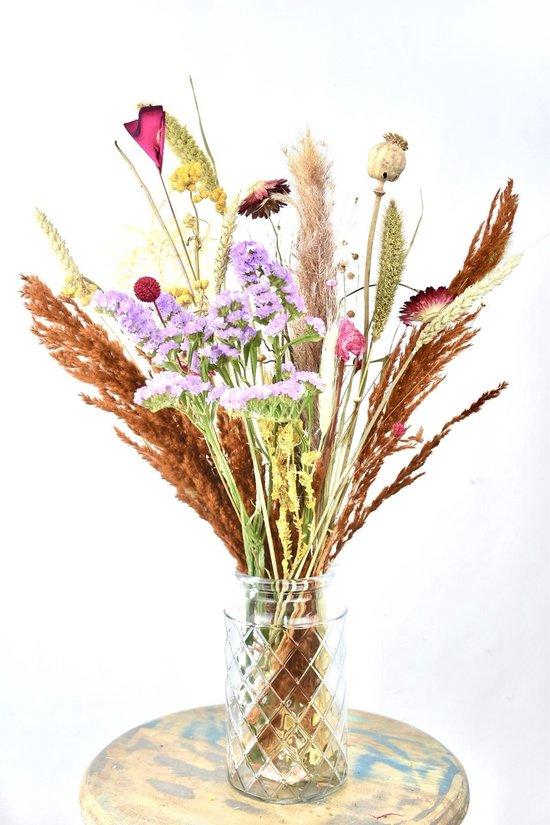 Droogbloemen - 50 cm - Bonte Mix - Natuurlijk Bloemen®