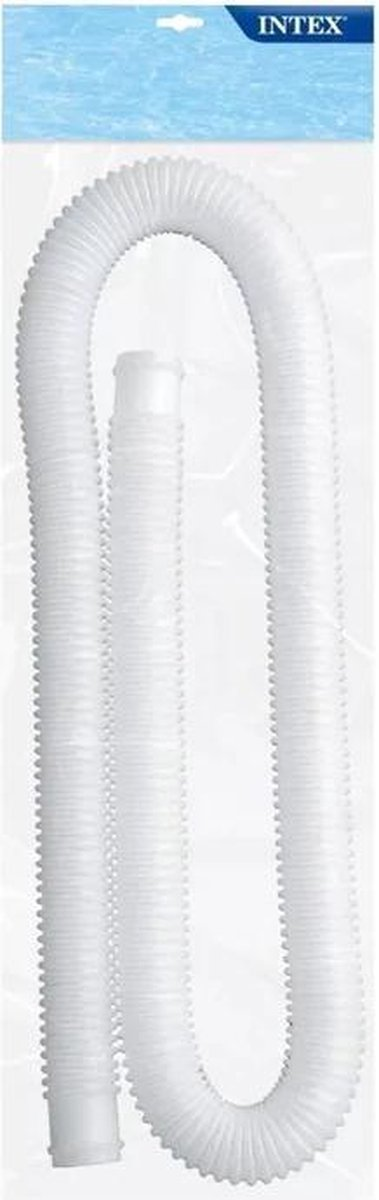 Intex filterpomp slang Ø32 mm 150 cm - vervangingsslang intex - Zwembad slang - 32mm slang - Verlengingsslang zwembad - koppelslan zwembad intex - 32mm slang wit