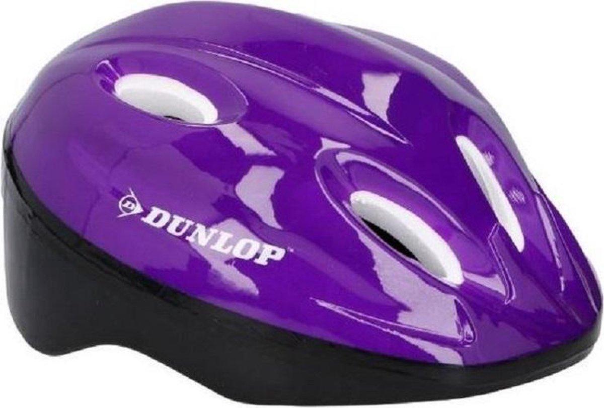 Dunlop Fietshelm Maat 48 - 54 | Paars