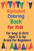 Alphabet Coloring book For Kids