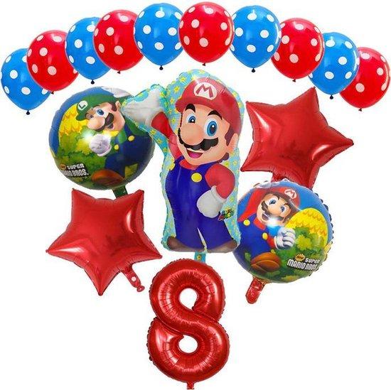 Super Mario - ballon set - thema - ballonnen - 8 jaar