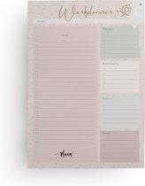 Werkplanner - To do notitieblok - A4 - 50 vel